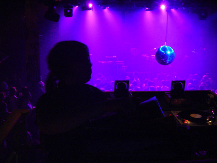 Photo: Marie Naas (me supporting LCD Soundsystem, 5Days Off Melkweg 2005)