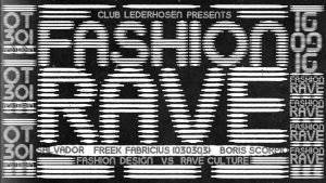 Fashion Rave E-flyer